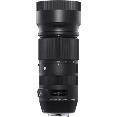 Sigma 100-400mm lens for Nikon F-mount, optical stabilization - Audio Video Photo on Aster Vender