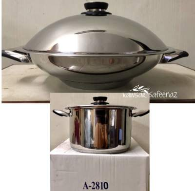 Home Classic - Wok & Receive Titan(2810) as gift - Kitchen appliances on Aster Vender
