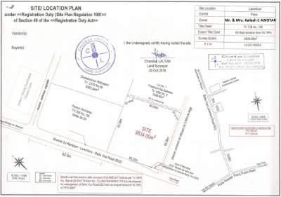 Land for Sale - 91 perches at L'Aventure, Main Road (B22) - Land on Aster Vender
