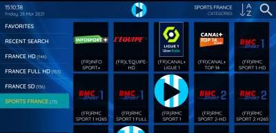 CHAINES IPTV - TV Box on Aster Vender