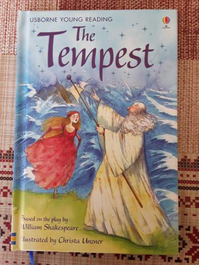 The Tempest ( short version) - Fictional books on Aster Vender