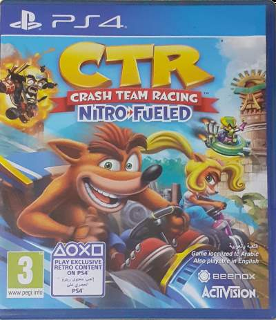 PS4 - Crash Team Racing Nitro-Fueled - PlayStation 4 Games on Aster Vender