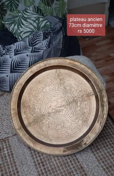 Antique platter - Interior Decor on Aster Vender