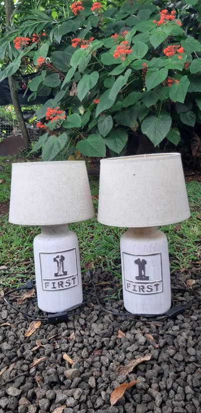 Lot 2 lampes - Interior Decor on Aster Vender