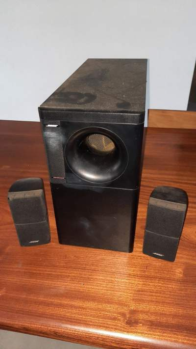 SOUND SYSTEM - BOSE ACOUSTIMASS 5 SERIES III - All electronics products on Aster Vender