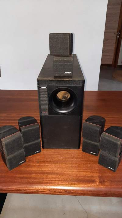 SOUND SYSTEM - BOSE ACOUSTIMASS 10 SERIES I - All electronics products on Aster Vender