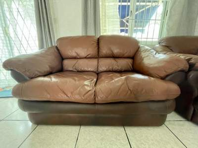 Leather Sofa Set - Sofas couches on Aster Vender