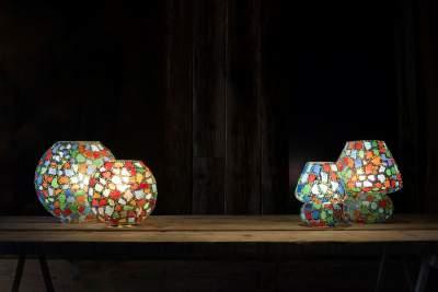 lampes de table en verre faites à la main .  - Interior Decor on Aster Vender