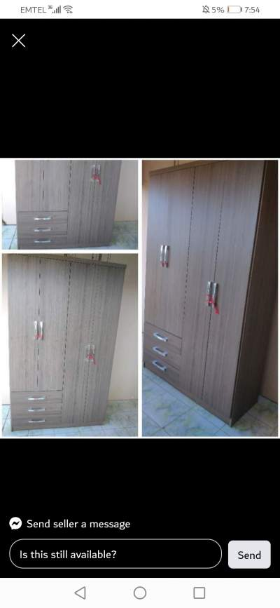 Wardrobe  - Other services on Aster Vender