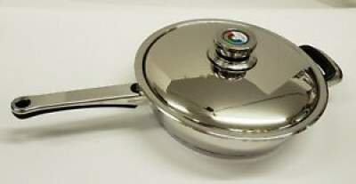50% DISCOUNT :WORLD'S BEST SURGICAL STEEL COOKWARE NUTRISTAHL Paella p - Kitchen appliances on Aster Vender