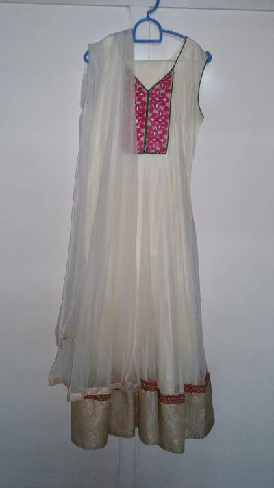 White churidar - Dresses (Women) on Aster Vender