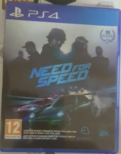 Jeux ps4 NEED FOR SPEED - Other Indoor Sports & Games on Aster Vender