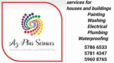 Washing, Painting and Waterproofing Services  - Home repairs & installation on Aster Vender