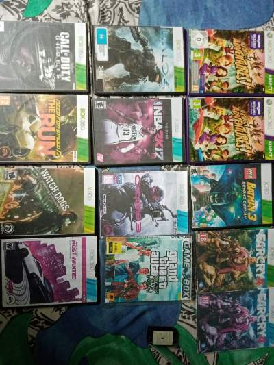 Xbox 360 accessories  - Xbox 360 Games on Aster Vender