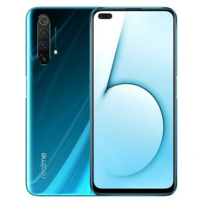 Realme X50 5G 64 MP RAM 8 GB ROM 128 GB with an amazing glacier colour - Other phones on Aster Vender