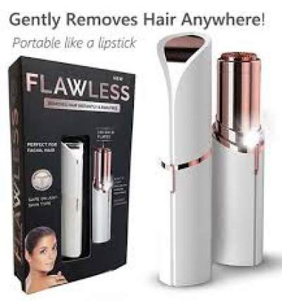 Rechargeable Flawless Facial hair remover - Other Hair Removal Products on Aster Vender