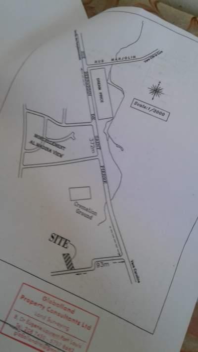 Terrain résidentiel  87.92 Toises à Vallée des Prêtres - Rs1,350,000 - Land on Aster Vender