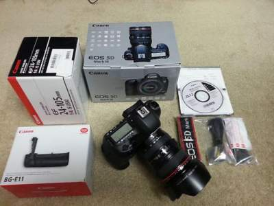 Canon EOS 5D Mark III Body /w KIT(24-105 IS) SLR Camera 23.4MP - All Informatics Products on Aster Vender