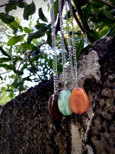 Gemstone necklace  - Necklaces on Aster Vender