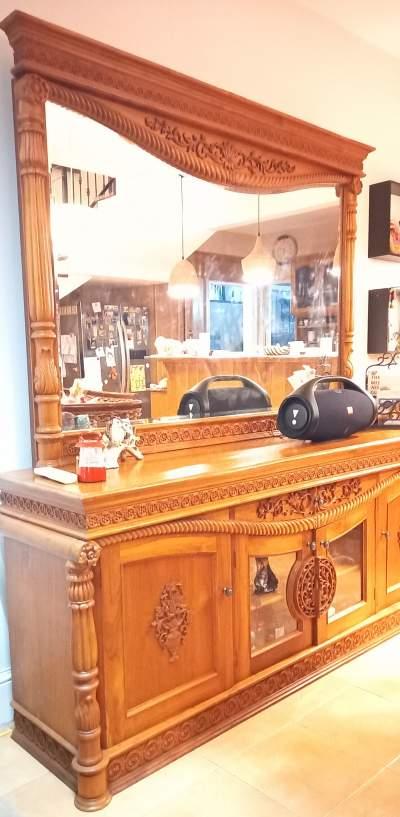 Solid teak bahut - Buffets & Sideboards on Aster Vender