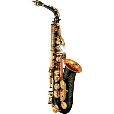 Yamaha YAS-82ZIIB Custom Z Alto Saxophone Black Lacquer - Saxophone on Aster Vender