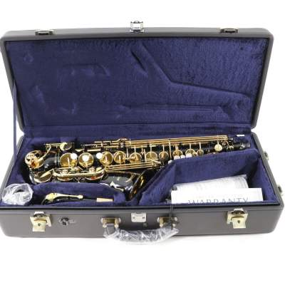 Yamaha YAS-82Z Custom z Alto saxophone, Black Lacquer - Saxophone on Aster Vender