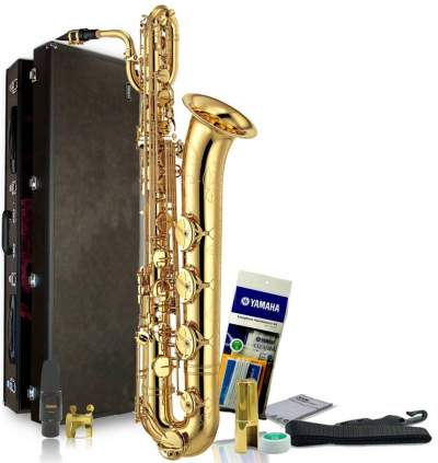 Yamaha YBS-52 Intermediate Baritone Saxophone - Saxophone on Aster Vender