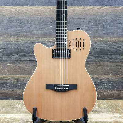 Godin Multiac A6 Ultra Natural Sg Electric Guitar Acoustics With Bag - Electric guitar on Aster Vender
