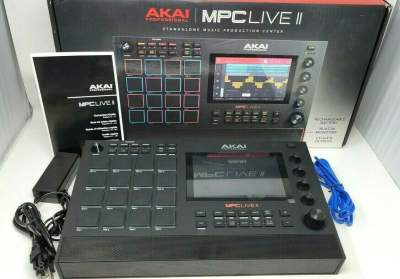 Akai Pro MPC Live Sampler Sequencer 256 GB SSD! Ultra-Portable Fully   - Other Studio Equipment on Aster Vender
