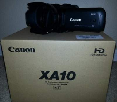 Canon XA10 HD Professional Camcorder - All Informatics Products on Aster Vender