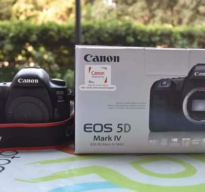 Canon EOS-5D Mark IV DSLR Camera Kit with Canon EF 24-70mm F4L IS USM  - All Informatics Products on Aster Vender