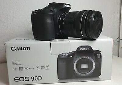 Canon EOS 90D Digital SLR Camera with 18-135mm EF-S f/3.5-5.6 IS USM L - All Informatics Products on Aster Vender