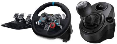 LOGITECH G29 DRIVING FORCE RACING WHEEL + Shifter (PC, PS4, PS5, PS3) - PlayStation 4 (PS4) on Aster Vender