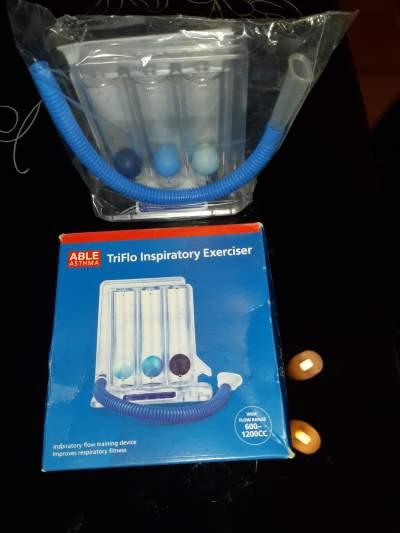 Triflo inspiratory exerciser for Asthma - Other Medical equipment on Aster Vender