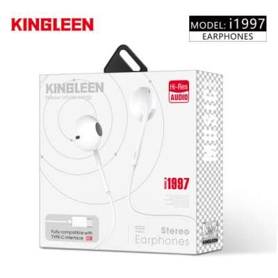 Kingleen Type c Earphone - All electronics products on Aster Vender