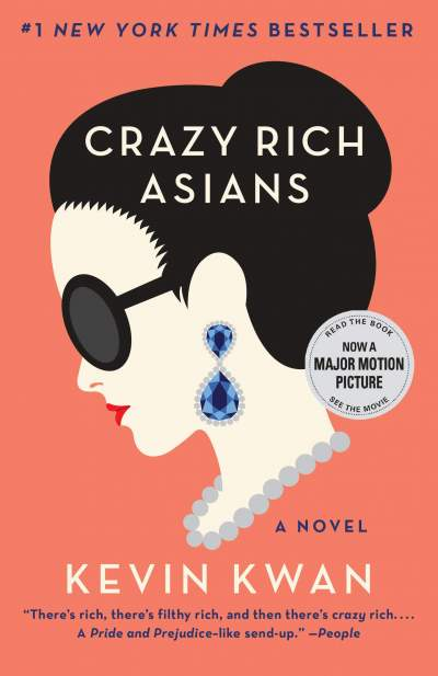 Crazy Rich Asians (with sequel China Rich Girlfriend) - Fictional books on Aster Vender