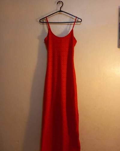 Long Red Dress (From Ita-Ita)  - Dresses (Girls) on Aster Vender
