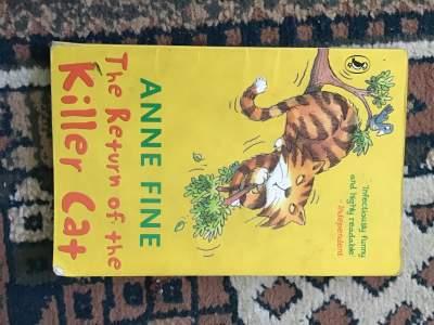 The return of the killer cat  - Fictional books on Aster Vender