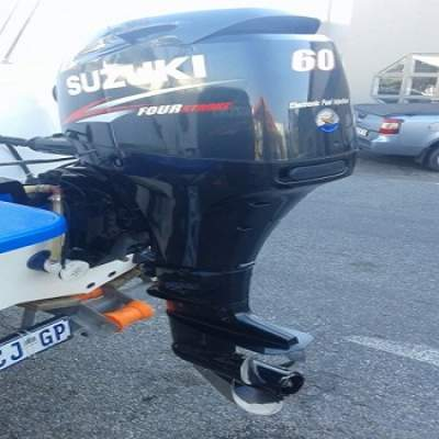 Slightly Used Suzuki 60HP 4-Stroke Outboard Motor Engine - Boat engines on Aster Vender