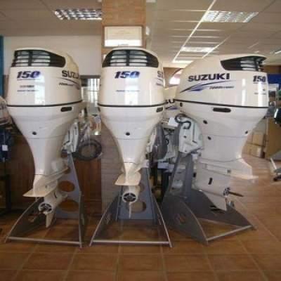 Slightly Used Suzuki 150HP 4-Stroke Outboard Motor Engine - Boat engines on Aster Vender