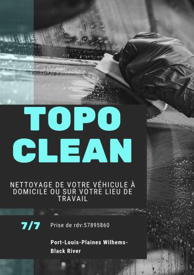 Topo clean - Cleaning services on Aster Vender