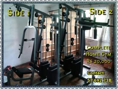 Home gym set - Fitness & gym equipment on Aster Vender