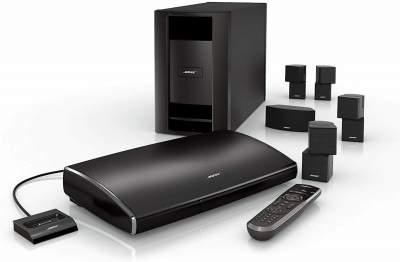 BosAcoustimass 10 Series II Home Theater Speaker System - Black - Speaker on Aster Vender