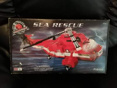 Lego Sea Rescue Helicopter 710 Pieces 7+ Yrs - Lego on Aster Vender