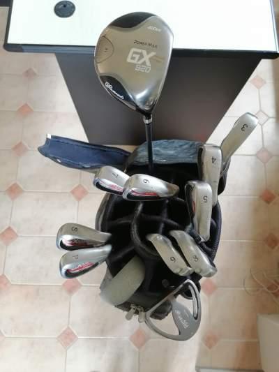 Set of Men's Golf Clubs & Trolley - Golf equipment on Aster Vender