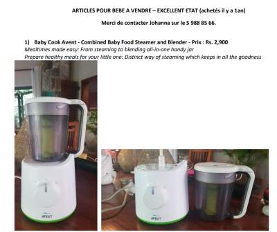Baby items to sell - very good condition (prices on pictures) - Kids Stuff on Aster Vender