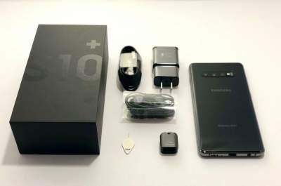 Samsung S10 + plus 128GB Black Dual Sim Unlocked SM-G975F/DS Unmarked - Galaxy Note on Aster Vender