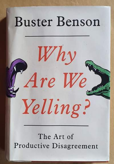 Why are we yelling? - Self help books on Aster Vender