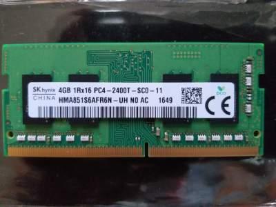 Laptop 4GB RAM Card DDR4 - Memory (RAM) on Aster Vender