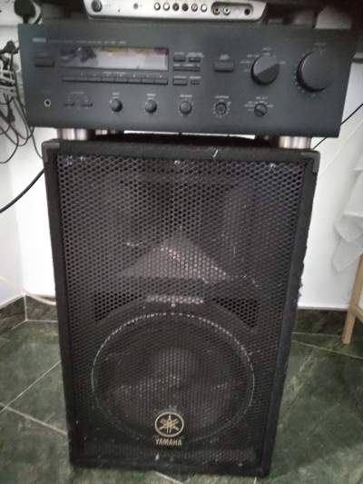 Amplifier, speakers and equalizer  - Other Studio Equipment on Aster Vender